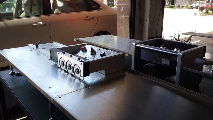 3.0mm PCB Depaneling Equipment / PCB Cutter Machine 200mm / Second